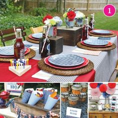 vintage barbecue party | Party of 5} Patriotic BBQ, Sugar & Spice, Top Chef, Hungry ...