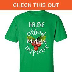 Helene Official Mistletoe Inspector Christmas - Adult Shirt 3xl Irish-green - Holiday and seasonal shirts (*Amazon Partner-Link)