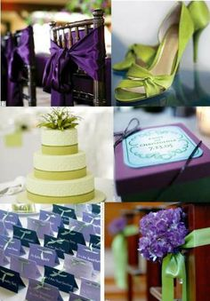 Love the Purple & either orange or teal!