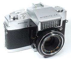 Minolta ER~1963年(レンズシャッター式SLR)