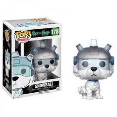 Funko Pop Snowball Rick And Morty.#funkopop #rickandmorty