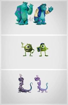 Monster's Inc vs Monster's University