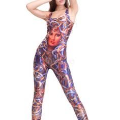 Multi Color Printed Sexy Club Pant Sets For Women