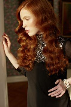 Lookbook Wedding - red hair #weddings