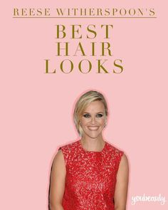 Reese Witherspoon's best hairstyles  #celebhair #reesewitherspoon #hair #celebs