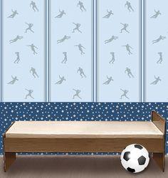 Simple Tapete Fu ball u Mein Bord renladen Dawanda