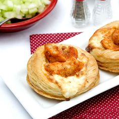 Puff Pastry Buffalo Chicken Appetizer