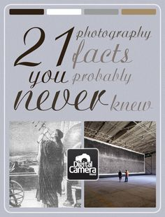 21 photography facts you probably never knew