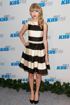 Hot Or Not? Taylor Swift's Ladylike Stripes. http://buzznet.com/~65aa84f