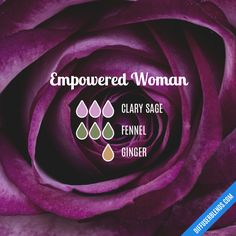 Empowered Woman - Essential Oil Diffuser Blend