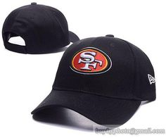 San Francisco 49ers Baseball Caps Black 100% COTTON