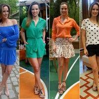 Ana Furtado aposta em looks modernos e descontraídos, com direito a pernas de fora; confira!