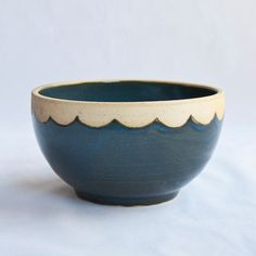 This inspiring bowl is perfect for everyday meals, entertaining, or decorating your home. This stoneware piece was carefully hand-crafted on the