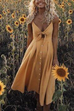 Frigirl Vintage Bow Tie Dress #dress #dressing #spring #springfashion