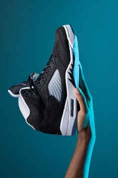 """A versatile look that has appeared on several Air Jordans in the past, the """"Oreo"""" colorway is back on the Air Jordan 5 for the second time in less than 10 years, a testament to the shoe's popularity."""