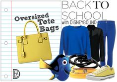 Back to School with Dory by Disney Bound