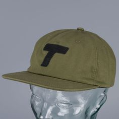 Theobalds Cap Co Classic Cotton Ball Hat Olive