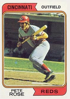 Pete+Rose+Baseball+Cards+Prices   1974 Topps Pete Rose #300 Baseball Card Value Price Guide