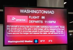 Good idea Virgin America/Note to Delta and America Airlines