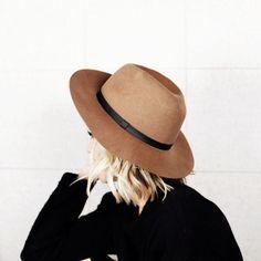 Marsha Brown - Fedora Crown Hat