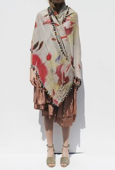 tie dyed with pompoms - @Susan Caron Seward & @Kimberly 'Heath' McNally Alavi