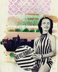 Nuevos rumbos... #ladytacones  #caminaescribedibuja#walkwritedraw #sketchbook #artjournal#moleskineart #nosinmicuaderno #paperart#womanstyle #mixedmedia #collage#handmadecollage #analogcollage#papercollage #quedanilusiones #inspiring #womenwhodraw #collagecollectiveco #art#fashionillustration #color #design #deco#visualart #bcn #artbarcelona#instaartist#charme #ceciliagañándemolina #芸術ジャーナル