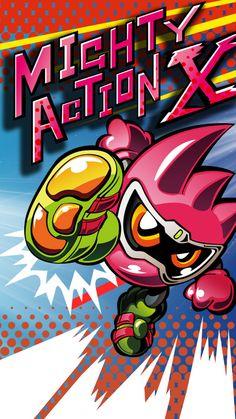 Mighty Action X Gashat Art (Ex-Aid version)