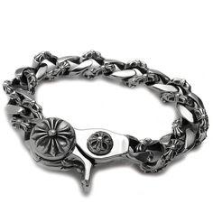 de478b17c47e Chrome Hearts Bracelet Fancy Link Clip