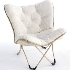 Superior Simple By Design Sherpa Memory Foam Butterfly Chair 31 49 Kohls Com Coupons