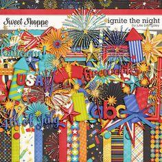 Sweet Shoppe Designs::Digital Scrap Kits::Ignite the Night by Julie Billingsley