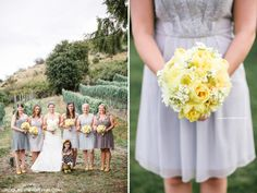 Karma Vineyard Wedding, Jacquelynn Brynn Photography, Modern, Grey, Yellow, Destination wedding, Lake Chelan