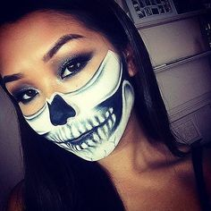 32 Scary-Sexy Skeleton Makeup DIYs For Your Best Halloween Yet