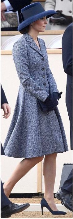 Kate in coat by Michael Korrs