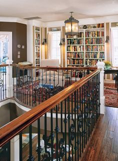 Library on the Landing | Content in a Cottage