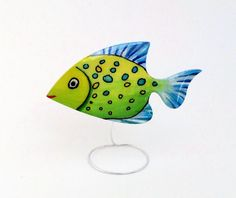 Items similar to Hand painted laser cut wooden brooch jewelry, crystal resin coated, pin finding, exotic fish on Etsy Crystal Resin, Resin Coating, Non Toxic Paint, Exotic Fish, Laser Cutting, My Drawings, Brooch, Hand Painted, Crystals