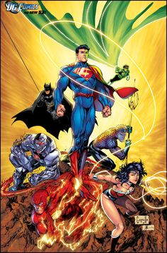 Justice League by Greg Capullo