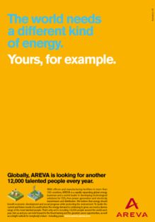 areva recruitment ad job advertisementjob
