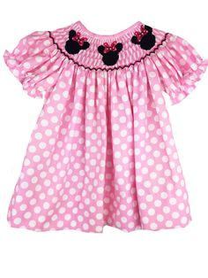 At Smock It To Me, we specialize in affordable prices on name-brand smocked, appliqued and monogrammable kid's clothing. We carry bishops, dresses, longalls, jon jons, bubbles, and other adorable clothing for babies, toddlers, boys and girls.
