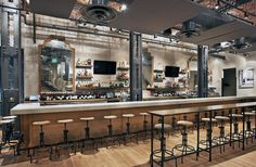 Nebo's Cucina & Enoteca new bar.