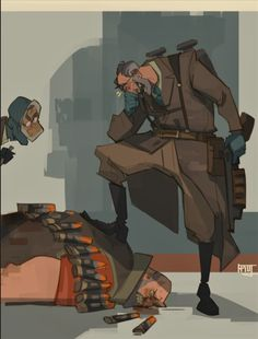 Tf2 Funny, Team Fortress 2 Medic, Valve Games, Team Fortess 2, Fictional World, Gesture Drawing, Fan Art, Illustrations, Overwatch