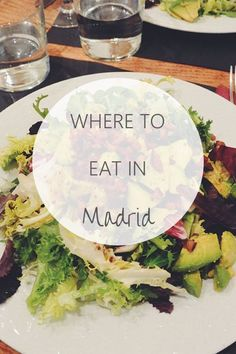 Where to eat in Madrid and how to dine like a local Madrid Food, Real Madrid, Spain Destinations, Like A Local, Spain Travel, Granada, Things To Do, Bucket, Europe