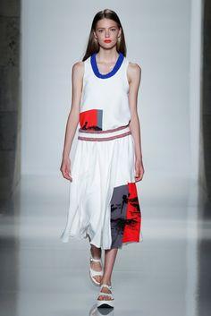 Victoria Beckham Spring 2016 Is Your Dream Work Wardrobe via @WhoWhatWear