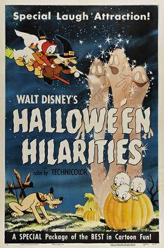 Theatrical poster for Walt Disney's Halloween Hilarities.