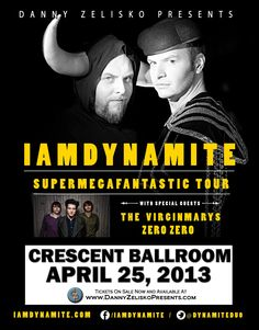 IAMDYNAMITE at the Crescent Ballroom on April 25, 2013