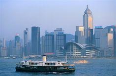 Vẻ đẹp bình yên vịnh Victoria Harbour, Hồng Kông