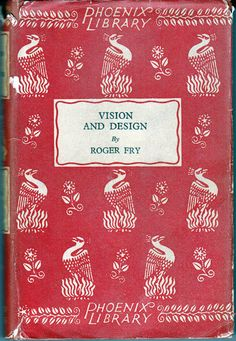 Vision and Design by Roger Fry a 1929 Vintage Book. $6.90, via Etsy.