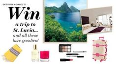 Enter Lucky Magazine's St. Lucia Trip Sweepstakes and you could win a trip to St. Lucia including spa treatments, meals, luggage, beauty products, and more. The trip is worth over $6,000.