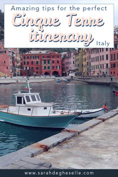 Amazing tips for the perfect Cinque Terre itinerary | Italy | Travel with Me