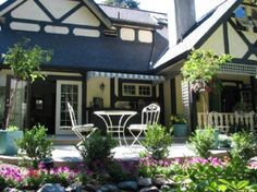 Sooke, Markham House Bed & Breakfast offers a peaceful rural location.