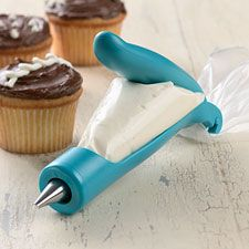 "Cake decorating ""pen""-- more control, and not so tough on the hands!,Cake decorating ""pen""-- more control, and not so tough on the hands! Definitely on my wish list! Vital kitchen gadgets for every need You can find kit. Cake Decorating Tips, Cookie Decorating, Just In Case, Just For You, Kitchen Gadgets, Baking Gadgets, Kitchen Tools, Let Them Eat Cake, Cupcake Cakes"
